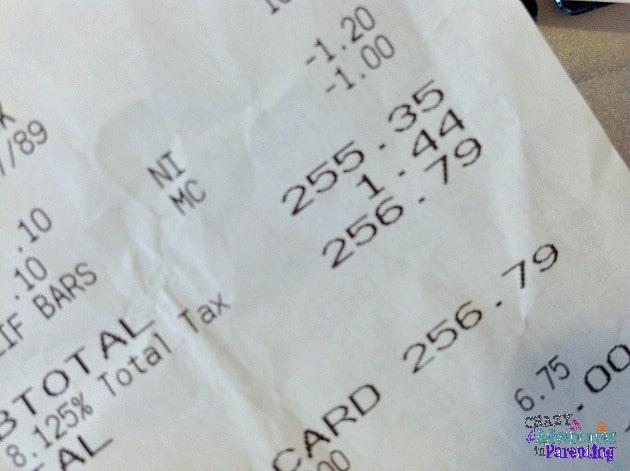 whole foods receipt