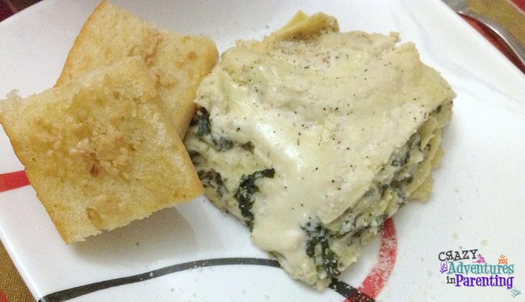 slow cooker recipe spinach artichoke lasagna crock pot recipe