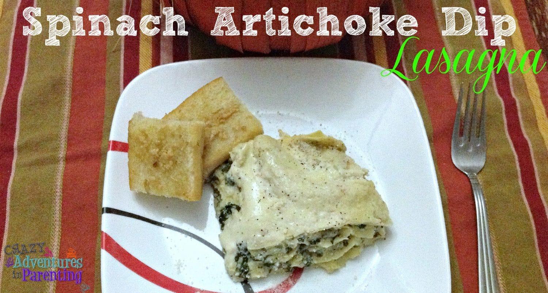 spinach artichoke lasagna crock pot recipe