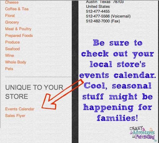whole foods events online calendar