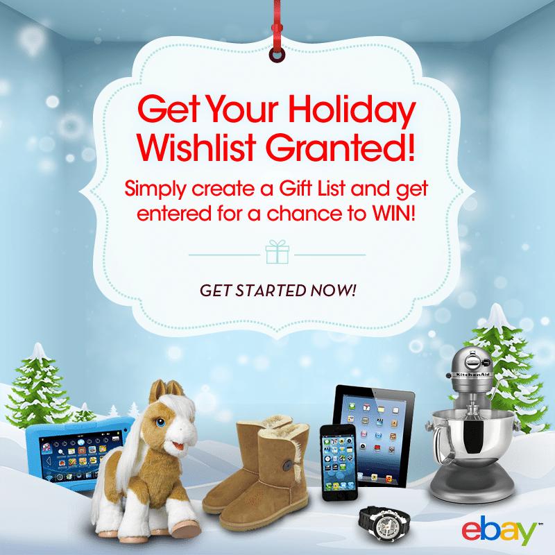 eBay Gifting Wishlist granted