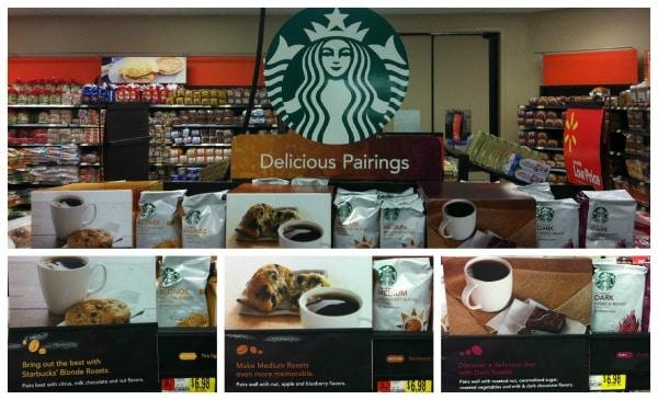 Starbucks Delicious Pairings Walmart display