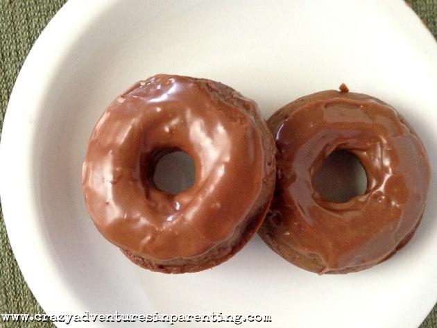 baked nutella doughnuts