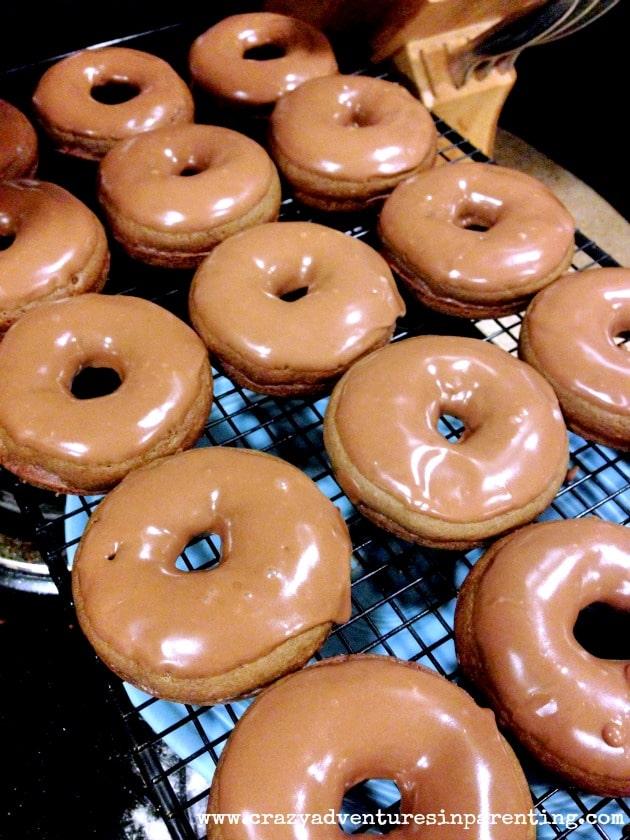 nutella doughnuts for breakfast