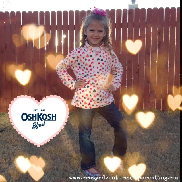 oshkosh b'gosh girls fleece