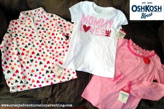 oshkosh b'gosh valentines shirts