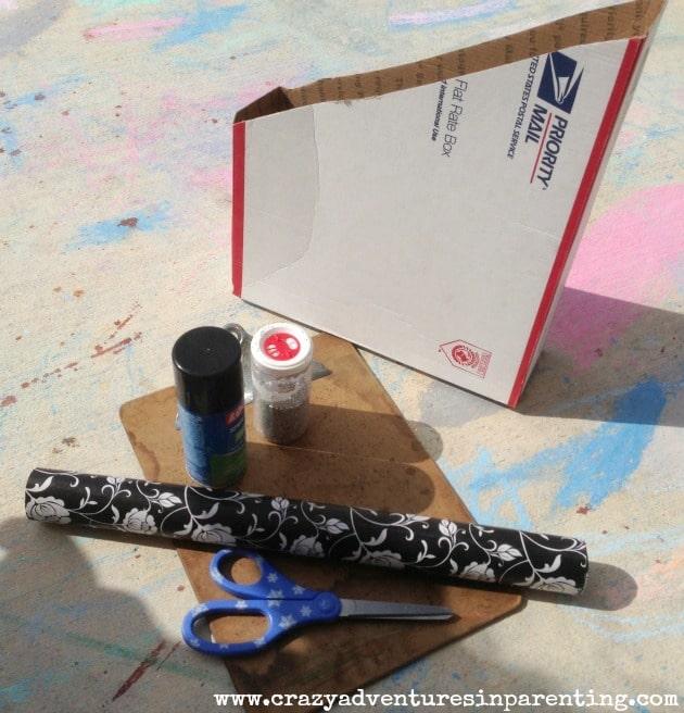 DIY School Paper Holder