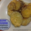 slow cooker potatoes au gratin crock pot