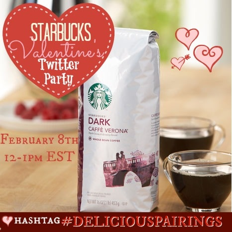 Starbucks Valentines Twitter Party