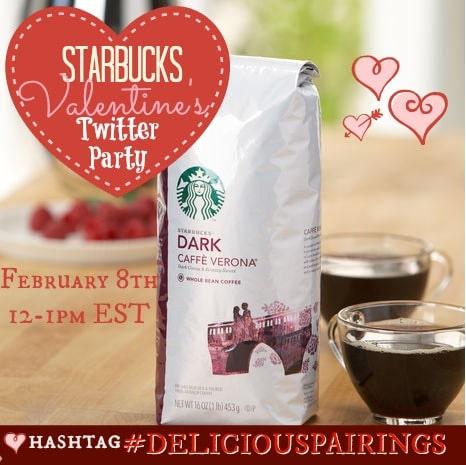 Starbucks Valentines Twitter Party