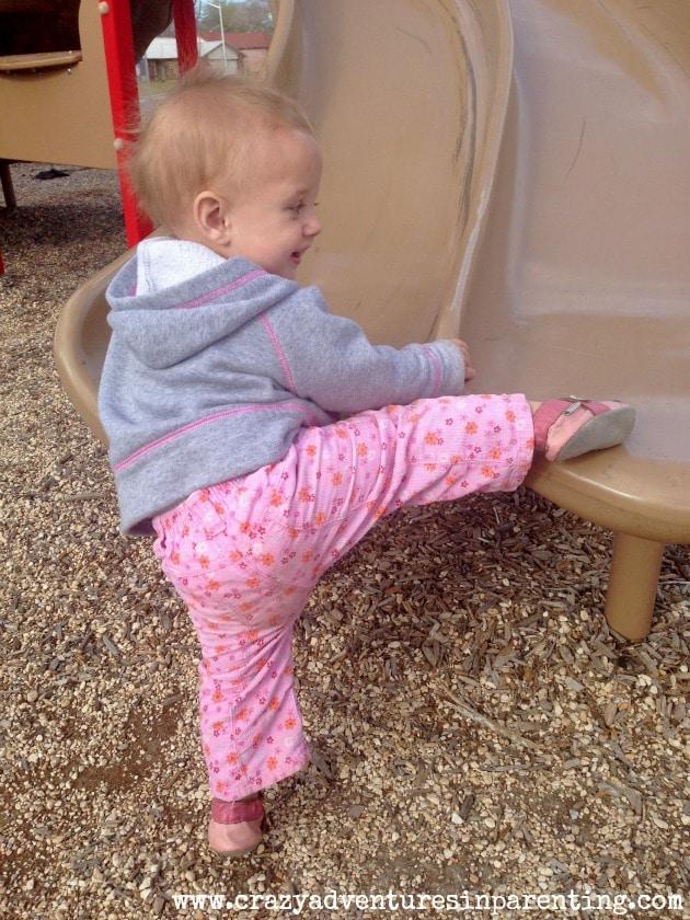 baby v slide