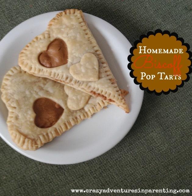 homemade nutella pop tarts