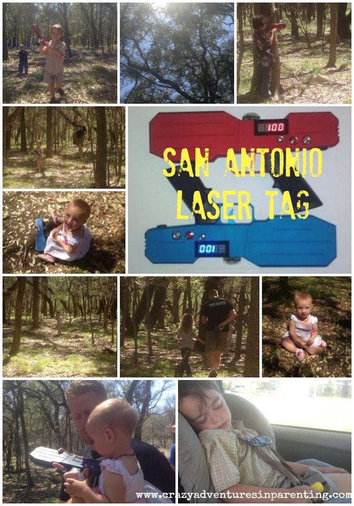 San Antonio Laser Tag Family Fun Crazy Adventures In