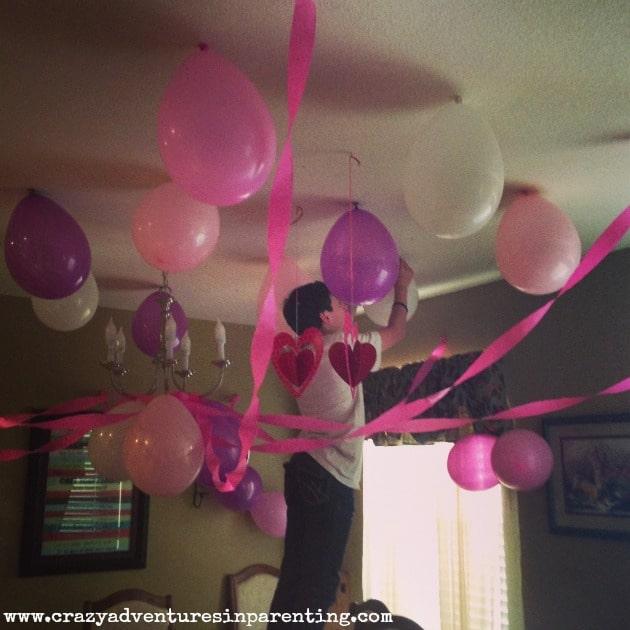 baby v birthday decorations