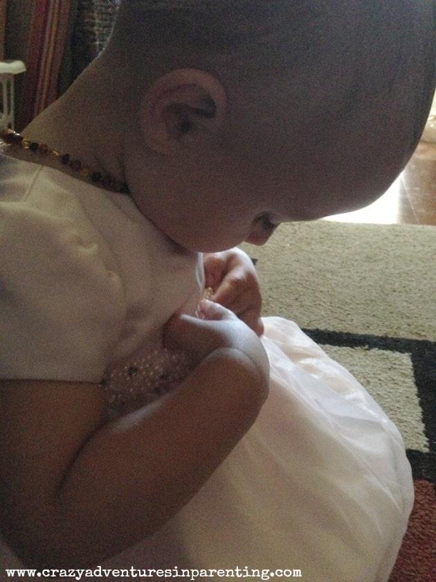 one-year-old pretty dress