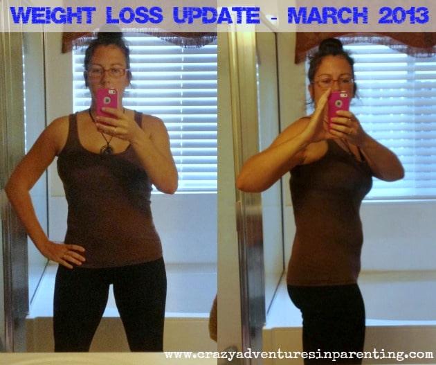 weight update march 2013