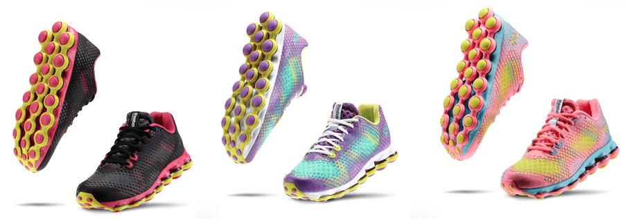 color reebok sneakers