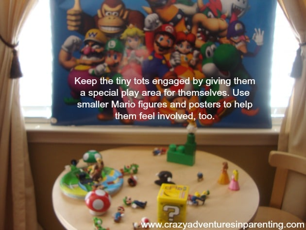 super mario party ideas