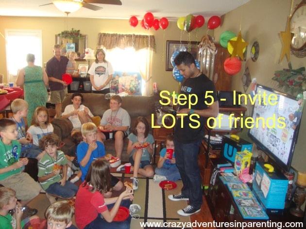 super mario party ideas
