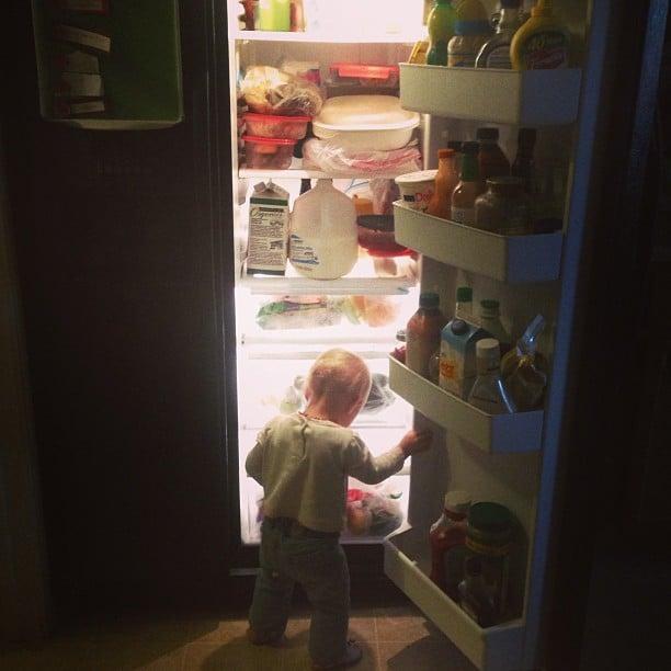 fridge baby
