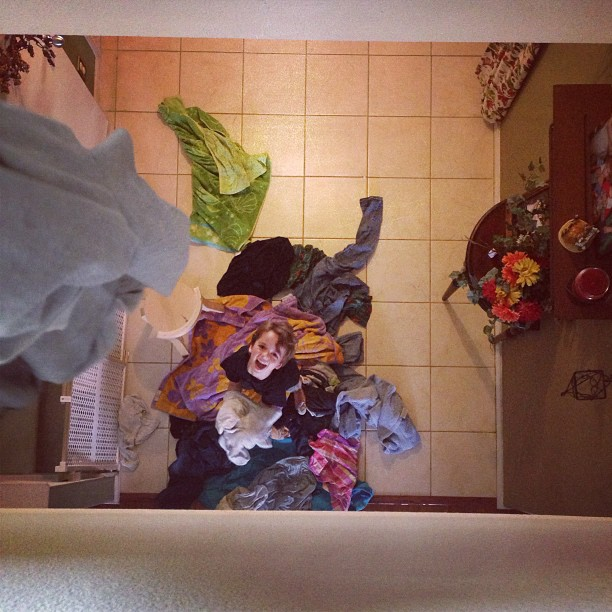 laundry chute loft