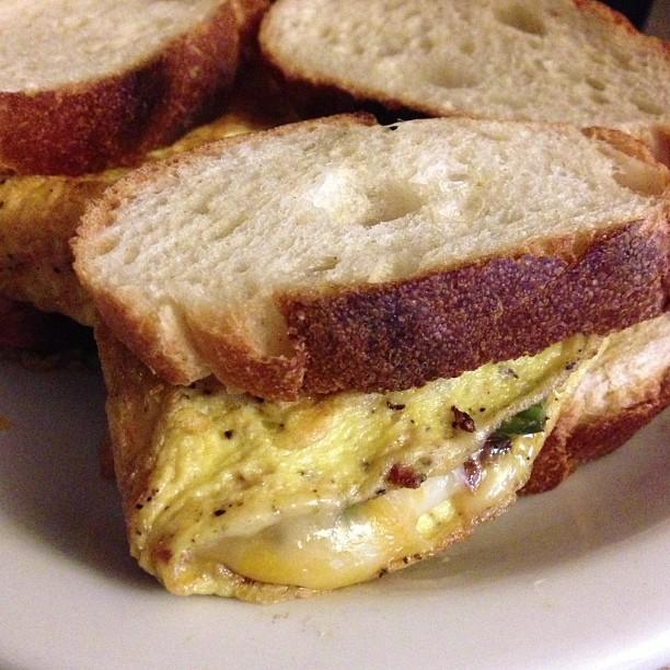 sexy breakfast sandwich