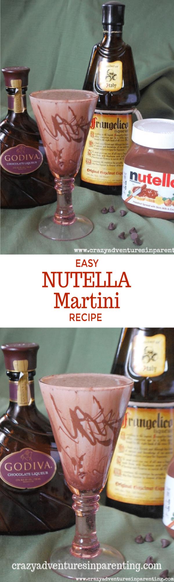 Easy Nutella Martini Recipe