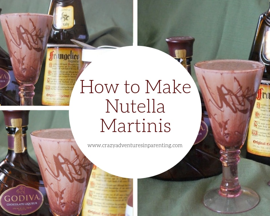 How to Make Nutella Martinis