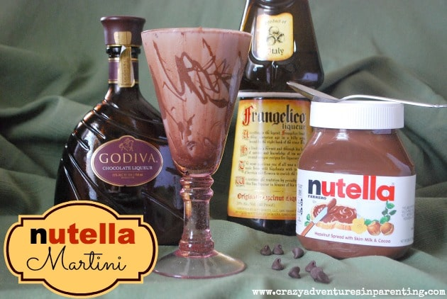 Nutella Martini