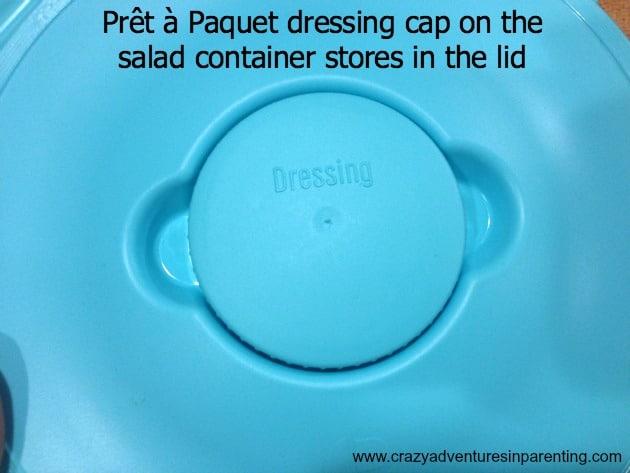 Prêt à Paquet salad container top