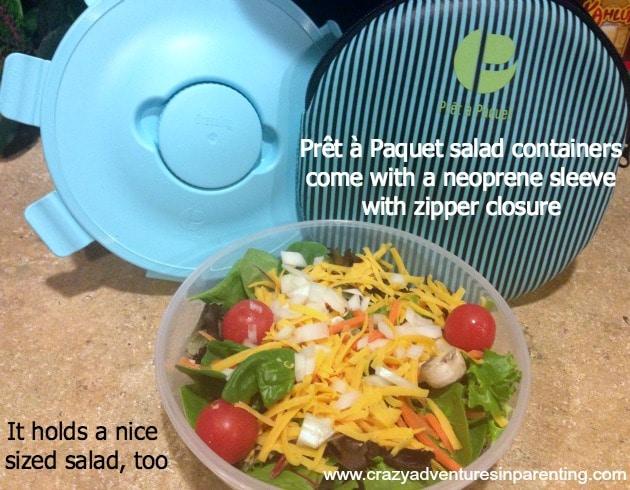 Prêt à Paquet salad