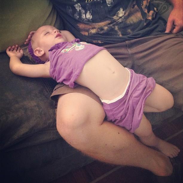 baby sleeps weird