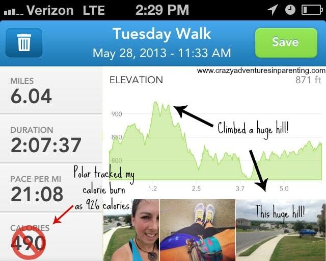tuesday walk