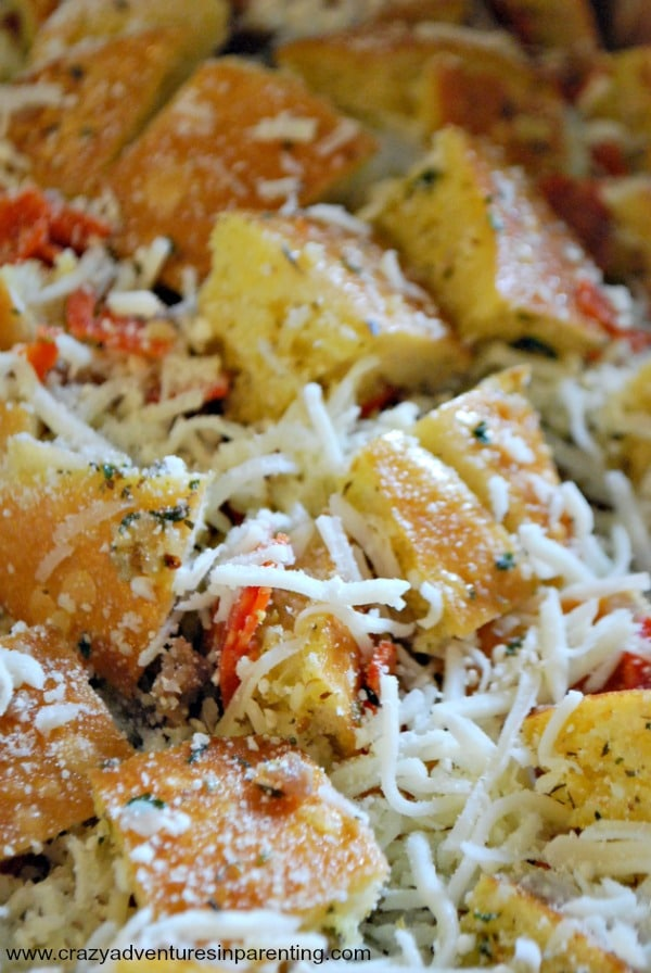 cheese stuffed italian bread