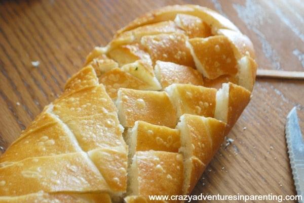 cubed italian bread