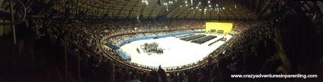 panoramic graduation