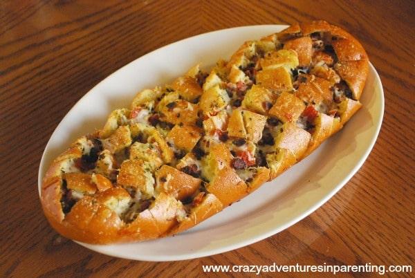 pizza stuffed italian bread