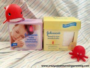 JOHNSON'S® Baby Washcloths