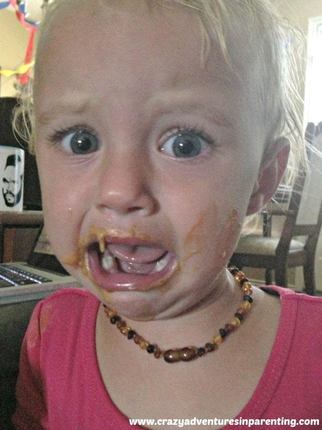 peanut butter face hilarity