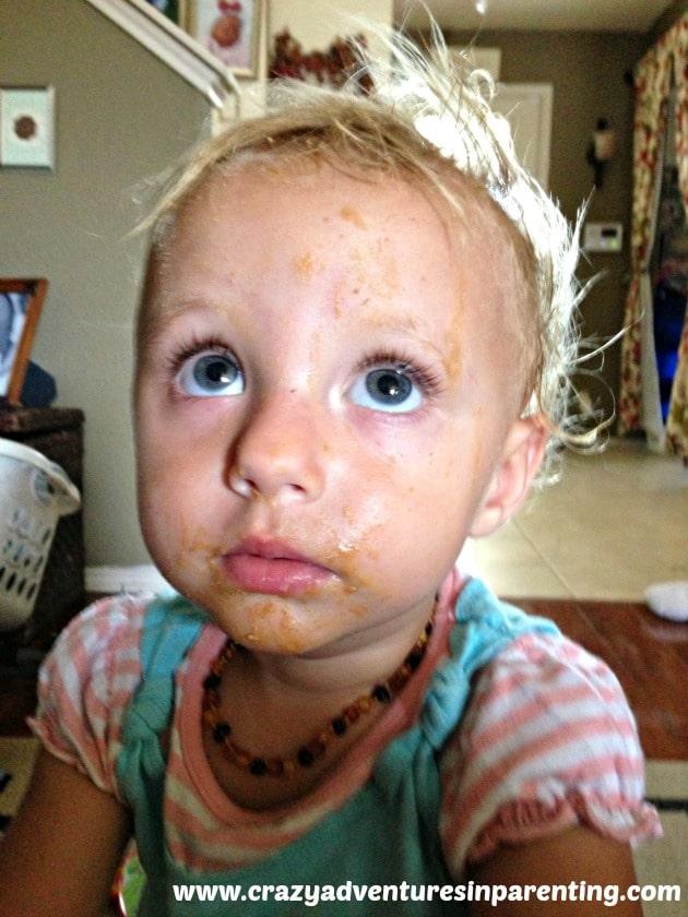peanut buttery face