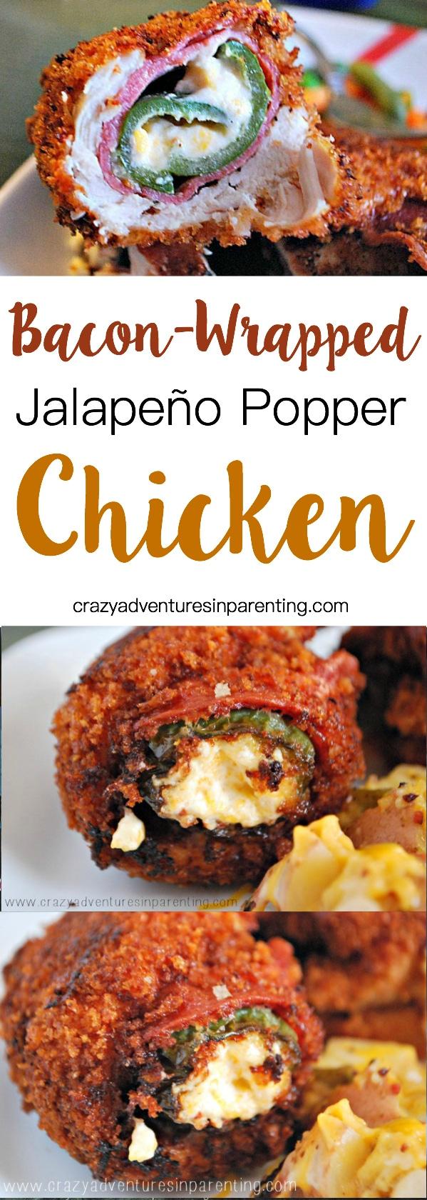 Bacon-Wrapped Jalapeño Popper Chicken Recipe
