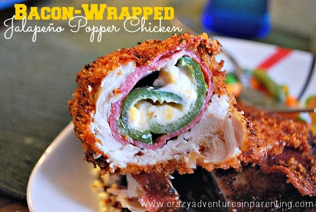 bacon wrapped jalapeno popper chicken recipe