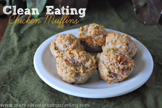 clean eating chicken muffins recipe