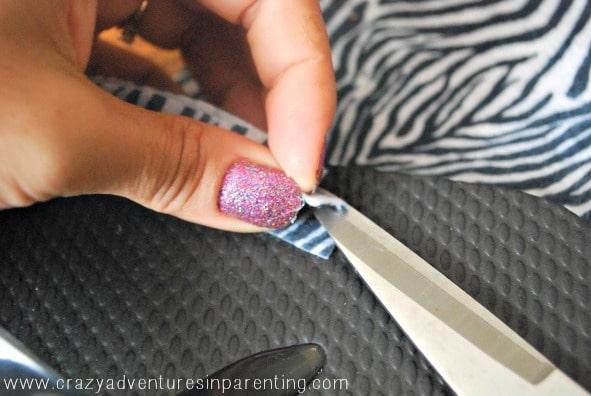 clip felt for flip flops