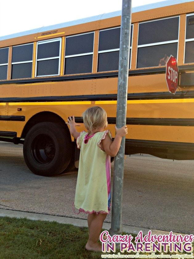 goodbye bus