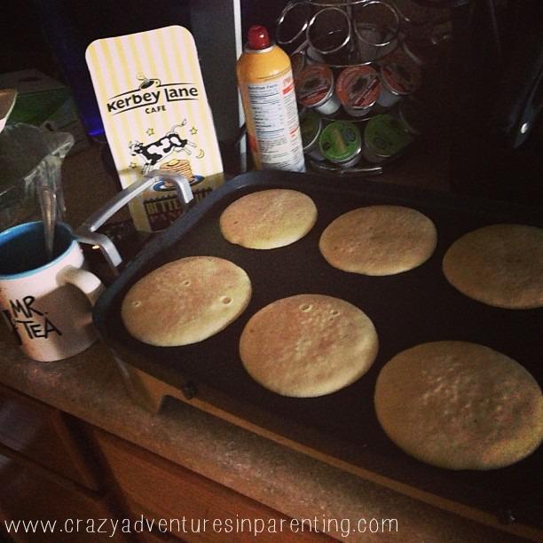 sleepover pancakes