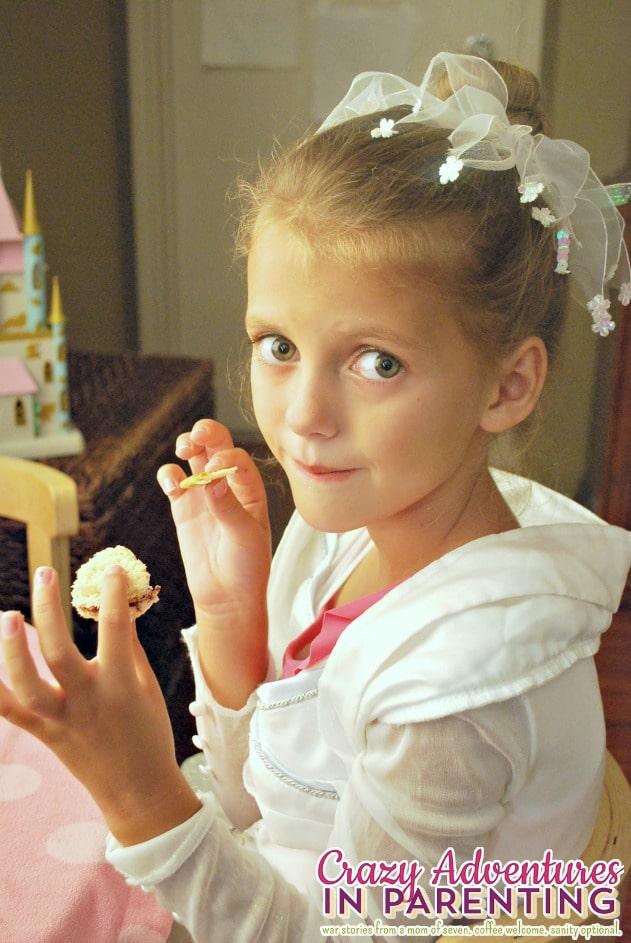 Disney Princess Tea Party For The Little Mermaid