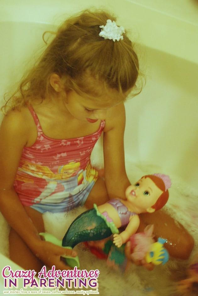 Disney The Little Mermaid Secret Reveal Ariel Doll