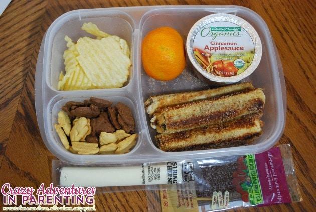 Nutella Peanut Butter Roll Ups School Lunch
