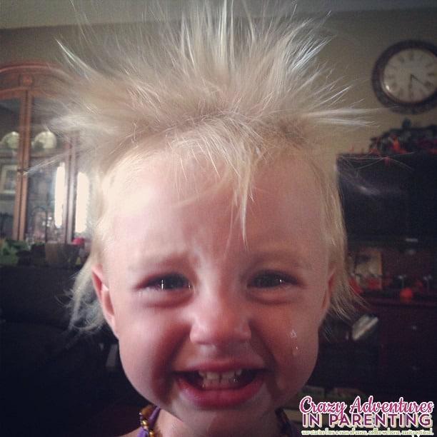 angry hair